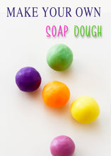 How to make soap dough