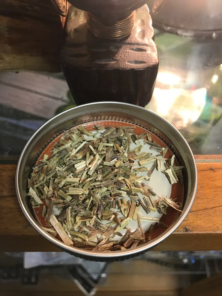 Organic Hyssop Herb Cut and Sifted