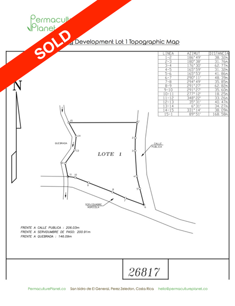 Eternal Spring Development - Lot 1 **SOLD**