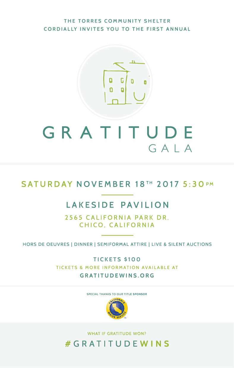 The Gratitude Gala for the Torres Community Shelter