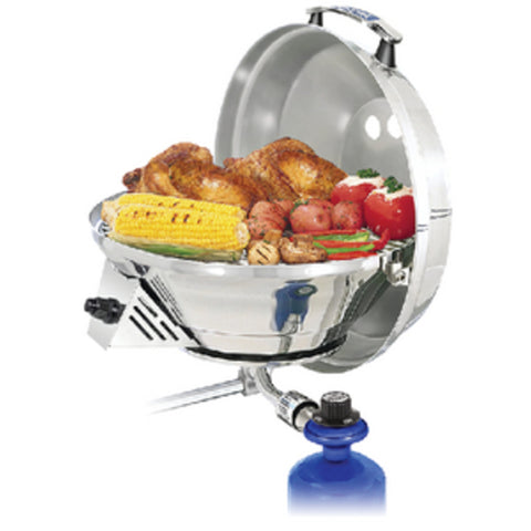 Magma Marine Kettle 3 Combination Stove & Gas Grill, Party Size