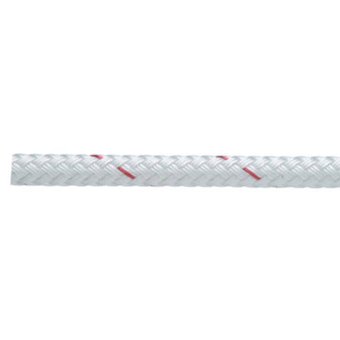 New England Ropes Sta-Set Double Braid, White