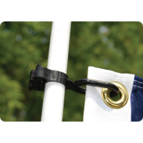 Taylor Made Charlevoix Burgee and Antenna Clips