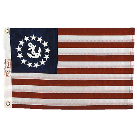 Taylor Made Deluxe Sewn Flags - US Yacht Ensign