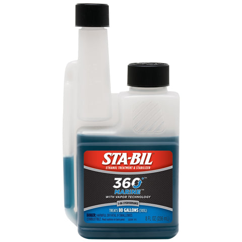 STA-BIL 360 Marine Ethanol Treatment & Stabilizer, 8 oz.