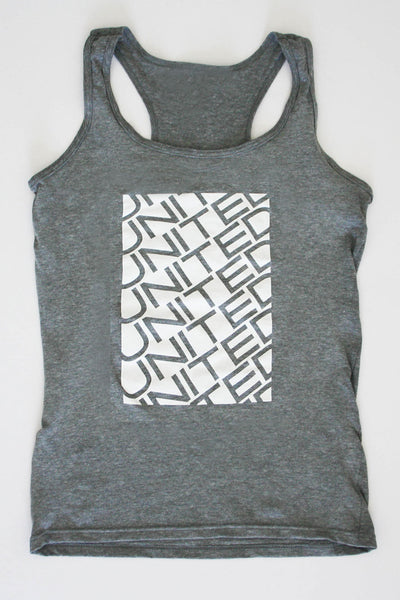 Stacked Racerback Tank Top (Womens) - Automotive Culture Collection