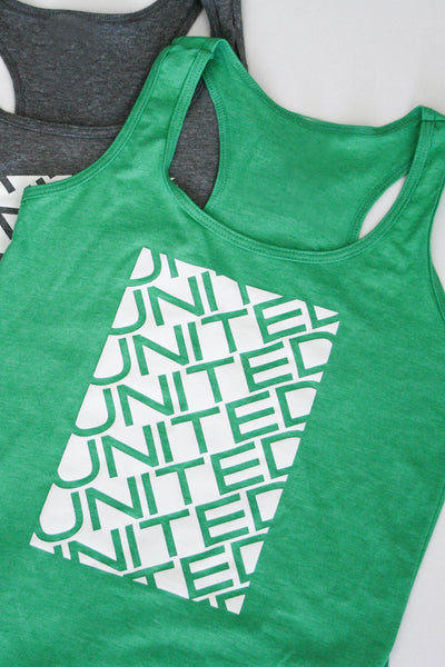 Stacked Racerback Tank Top (Womens)