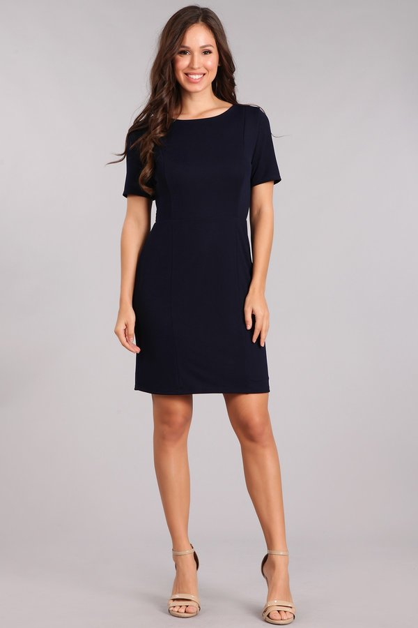 Classically Chic Sheath Dress