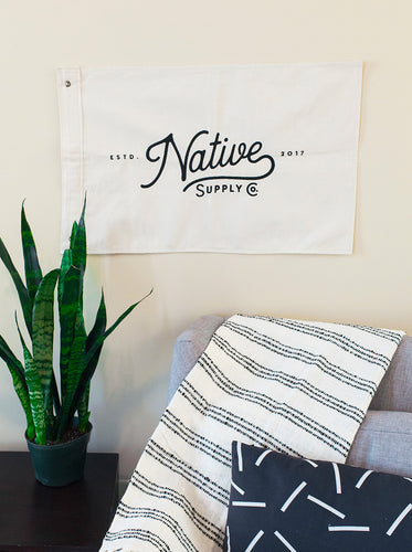 Native Supply Co. Flag