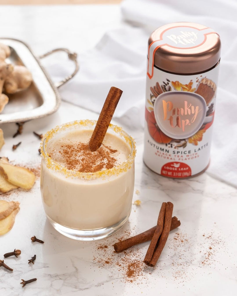 Boozy Autumn Spice Latte