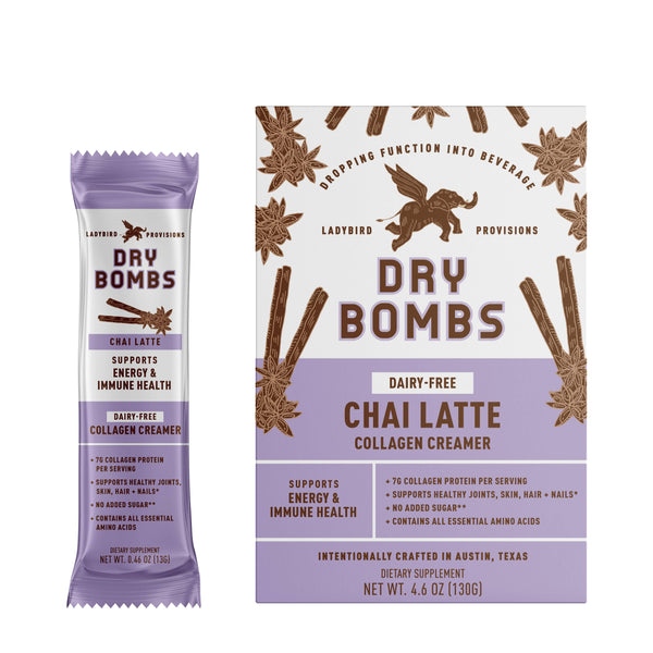 Chai Latte Dairy-Free Collagen Creamer