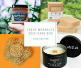 Great Mornings Self-Care Box: June Edition