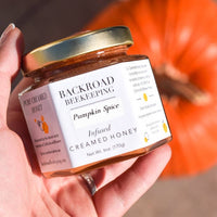 Pumpkin Spice Creamed Honey