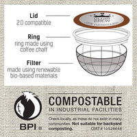Glory Brew Lady Vanilla Compostable Coffee Pods