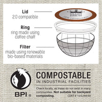 Glory Brew Sir Hazelnut Compostable Coffee Pods