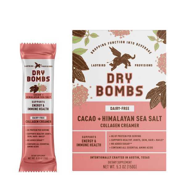 Cacao + Himalayan Sea Salt Dairy-Free Collagen Creamer
