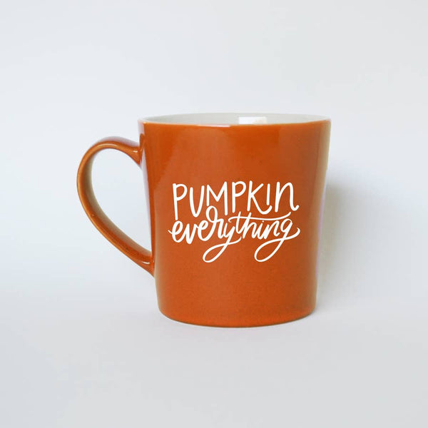 """Pumpkin Everything"" Ceramic Mug"