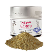 Zesty Lemon Cane Sugar