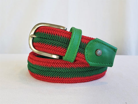 Manfredi Stretch Woven Belt