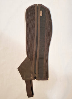 Fouganza Synthetic Half Chaps - 12Y