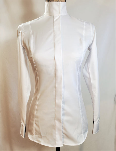 Essex Classics Coolmax Performance Show Shirt w/ Wrap Collar Shirt - New!