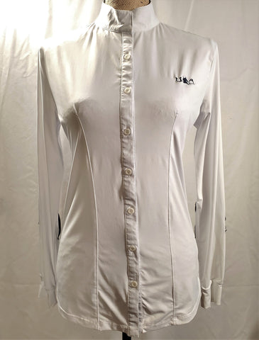 Sport Horse Lifestyle Wings Show Shirt - Size L - New!