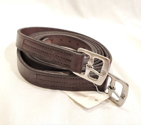 Perri's Unlined Stirrup Leathers - 55""