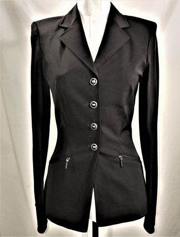 Iris Bayer PIA Coldback Ladies Show Jacket - Size 68 (US Women's 4 Tall) - New!