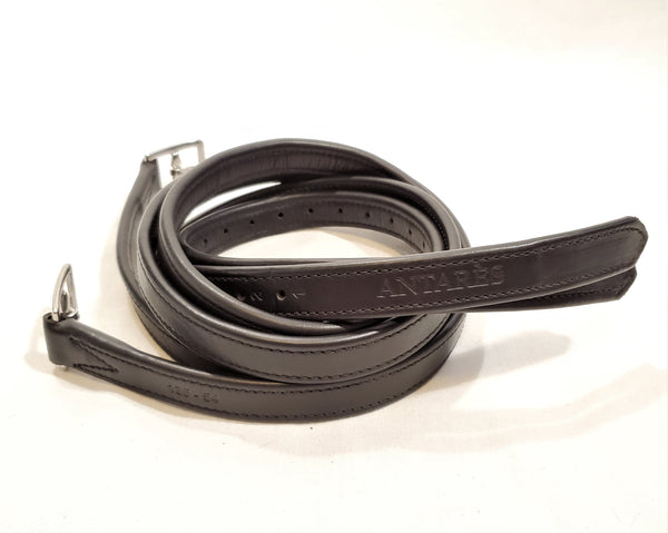 Antares Calfskin Lined Stirrup Leathers - 54""