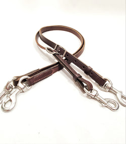 Short Leather Side Reins