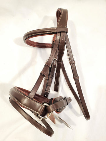 Dy'on Classic Crank Noseband Bridle - Pony - New!