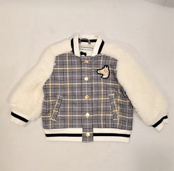 Janie and Jack Equestrian Varsity Jacket - 6-12 Months