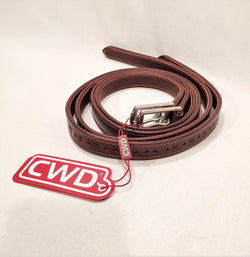 "CWD Lined Calfskin Stirrup Leathers - 120 cm/48"" - New!"