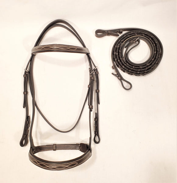 Suffolk by Dover Saddlery Hunter Bridle - Full - New!