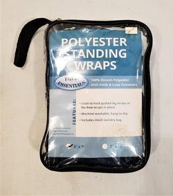 "Equi-Essentials Polyester Standing Wraps - 5"" x 9' - New!"