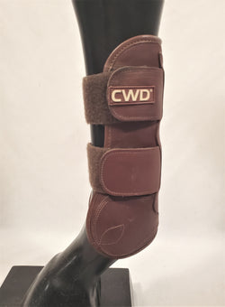CWD Velcro Front and Back Boots - Size 3