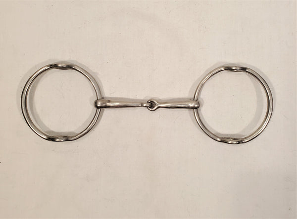 Polo Loose Ring Snaffle Gag Bit - 5.25""