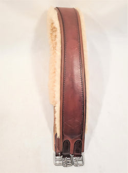 Edgewood Sheepskin Lined Single Elastic Girth - 50""