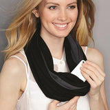 Infinity Scarf with Hidden Pocket - New! - The Show Trunk Shop