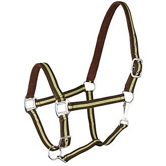 Gatsby Suede Padded Nylon Halter - Horse - New!