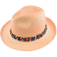 Beaded Panama Hat
