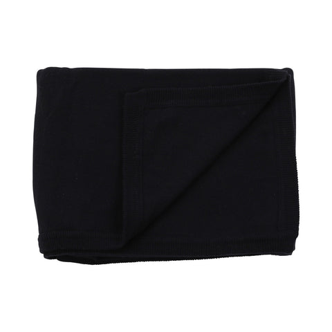 Cotton Cashmere Navy Baby Blanket - F. W. Woolworth Co. Online Store