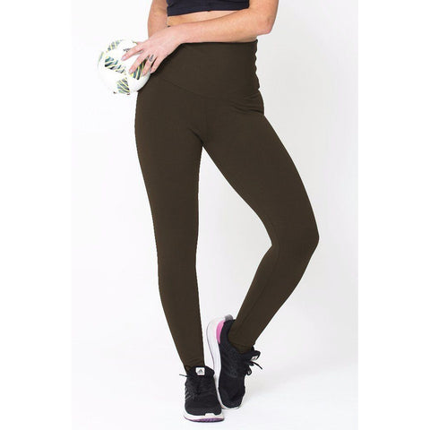 Brown High Up Legging - F. W. Woolworth Co. Online Store