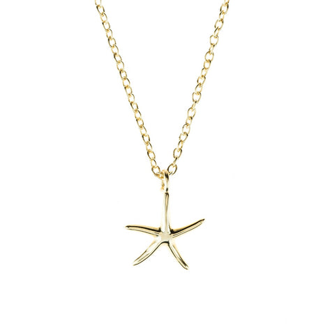 Petite Starfish necklace