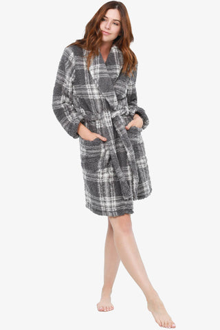 The Plaid It Out Robe