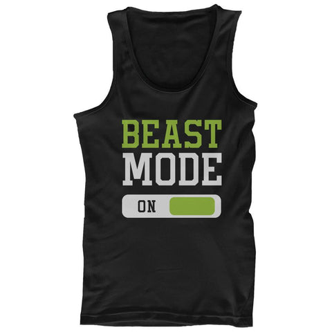 Beast Mode Men's Workout Tanktop Work Out Tank Top Fitness Gym Shirt