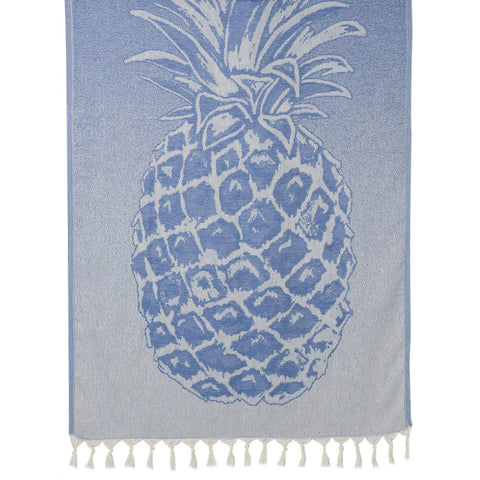 Ocean Pineapple Turkish Beach Towel - F. W. Woolworth Co. Online Store
