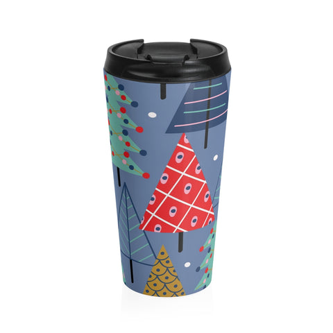 Paper Trees Stainless Steel Travel Mug