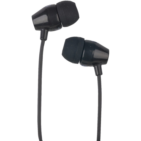 RCA HP159BK Stereo Earbuds (Black) - F. W. Woolworth Co. Online Store