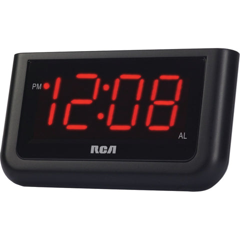 "RCA RCD30 Alarm Clock with 1.4"" Red Display - F. W. Woolworth Co. Online Store"
